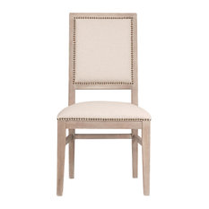 Dexter Dining Chairs, Set of 2, Stone Wash