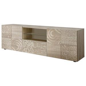 Miro Decorative TV Unit, 181 cm, Samoa Oak