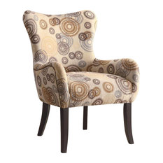 Coaster Upholstered Accent Chair with Nailhead Trim