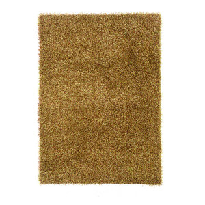 Confetti Collection Rug, Grass Green and Brown, 5'x7'