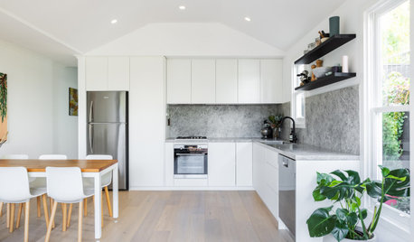 Before & After: A Modern Monochrome Kitchen for a Young Family