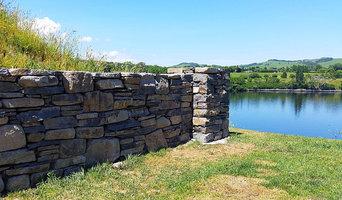 Karapiro wall