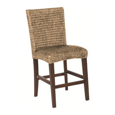 Coaster Furniture - Westbrook Dining Casual Woven Counter Height Dining  Chair, Set of 2,