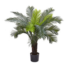3 ft. UV Resistant Cycas Tree in Green
