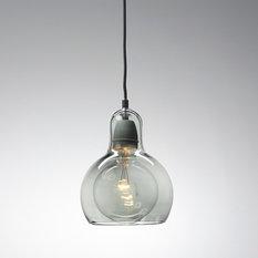 - Smoked Mega Bulb Pendant - Pendant Lighting