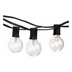 25' Indoor/Outdoor Kanstar String Lights With 25 G40 Globe Bulbs, UL-Listed