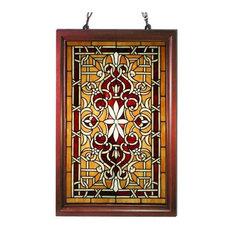 Wood Frame Window Panel