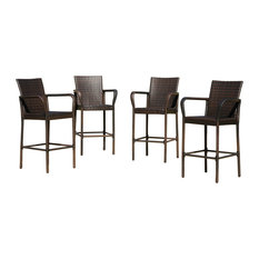 gdfstudio stewart outdoor bar stools set of 4 outdoor bar stools and counter