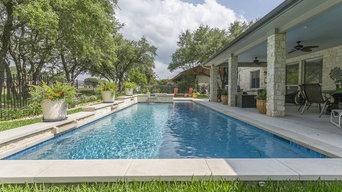 Hamilton Custom Pool - Geometric Pool Design