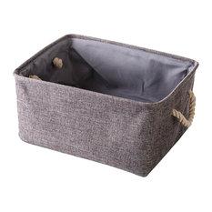 36x26x16 cm, Creative Linen Storage Basket