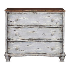 Farmhouse Shaped 3-Drawer Chest