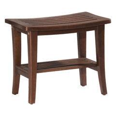 Teak Shower Benches and Seats For Less | Houzz