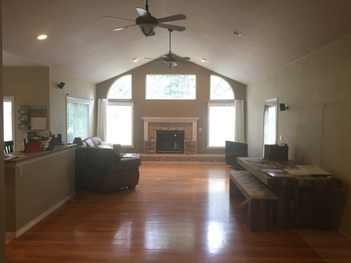 Furniture Placement For Open Concept Long Narrow Living Room Help