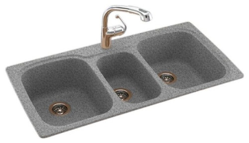 Is this sink an under mount...Swan 44x22x9 Solid Surface Kitchen Sink,