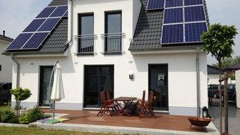 Haustyp Flair 134, Terrassenansicht