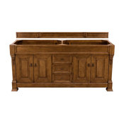 "Brookfield 72"" Double Cabinet Country Oak - Base Cabinet Only"