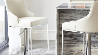Form Stainless Steel Bar Stool With Backrest