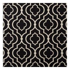 Designer Roman Shades Plain Fold, 43Wx93H, Donetta Licorice