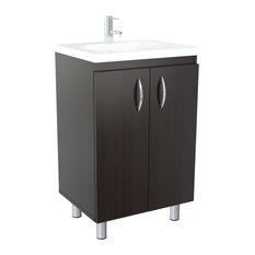Residence   Bennett Vanity, Dark Espresso   Bathroom Vanities And Sink  Consoles