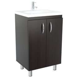Fabulous Contemporary Bathroom Vanities And Sink Consoles by Inval America