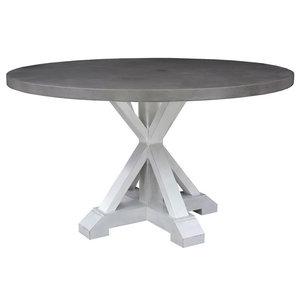 Palisade Round Dining Table Gray