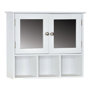 Bath Vida 2-Door Milano Wall Cabinet With 3 Compartments