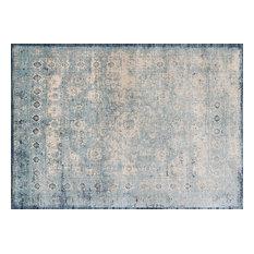 "Loloi Anastasia Rug, Light Blue/Ivory, 3'7""x5'7"""
