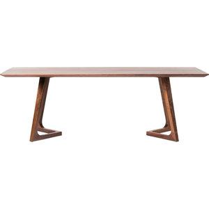 Godenza Dining Table Rectangular, Walnut