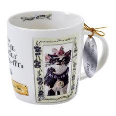 Royal Furmily Pawtraits Lady Tiny Tinsy Teena Tuna Cat Mug