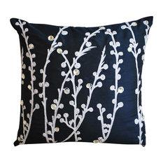 Navy Blue Decorative Pillows Houzz
