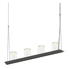 Votives 8 Light Pendant in Satin Black