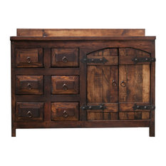 Foxden Decor Old World Rustic Vanity Right Sink 48 X20 X32