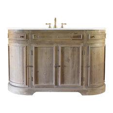 Rounded Corner Bathroom Vanities Houzz