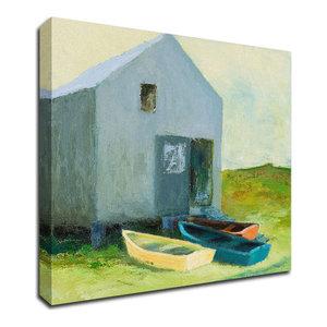 Selfless Service Gallery Wrapped Canvas 57294 Thomas Kinkade 14 x 14