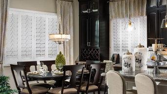 Stunning Dining Room Shutters