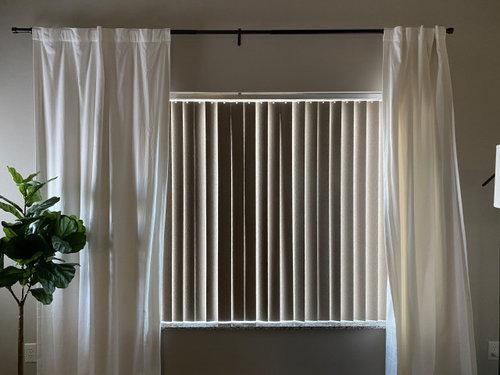 Apartment Vertical Blinds Help
