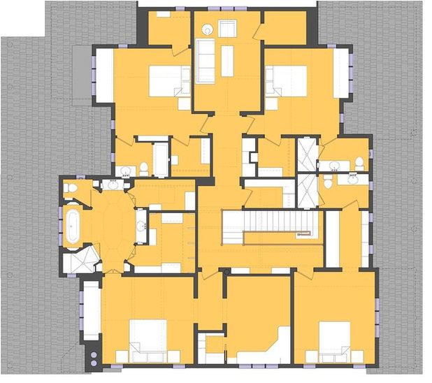 Traditional Floor Plan Houzz Tour: Tim Barber Studio CIty