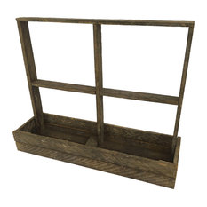 Rustic Reclaimed Tobacco Lath Board Window Box