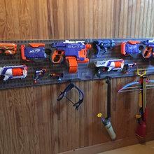 Aménager un rangement pour ses pistolets jouets