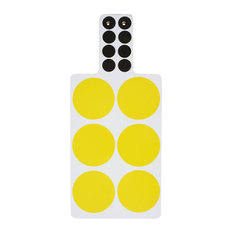 Spots Chopping Boards, Yellow, Set of 2