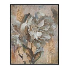 "Uttermost ""Dazzling"" Floral Art, 41.38""x51.38"""