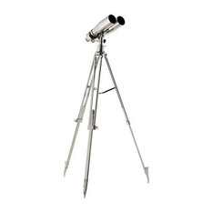 "Decorative Telescope | Eichholtz Kentwell, Silver, 26""Wx26""Dx77""H"