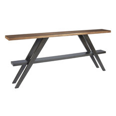 Universal Furniture Curated Chandler Console Table, Mango Pango
