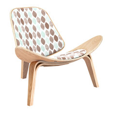 Natural Shell Chair, Drops of Retro