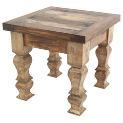 Rustic Side Tables And End Tables by Mexican Imports