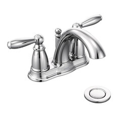 Moen Brantford Chrome 2-Handle High Arc Bathroom Faucet