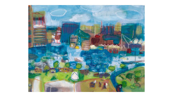 Baltimore's Inner Harbor Giclee