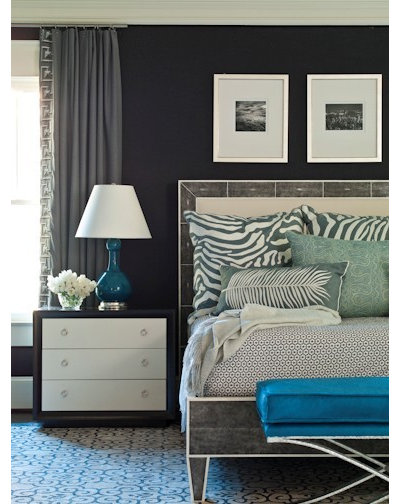 Contemporary Bedroom by Brian Watford Interiors