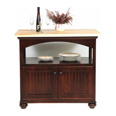 Eagle Furniture American Premiere Kitchen Island, Caribbean Rum