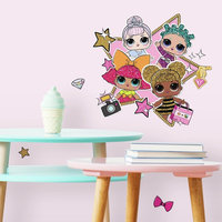 Lol Surprise! Peel And Stick Giant Wall Decals